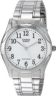 Casio 19044mtp-12Knight Clock–Quartz Bracelet Metallic Dial White