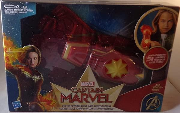 Collector Captain Marvel Photon Power FX Glove Channel Your Inner Energy Blasting Hero