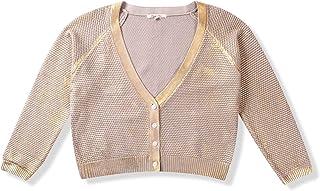 a6ef0c88ec PURPLECLOVER Women s Shiny Button Front Long Sleeve Cardigan Sweater