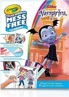 Crayola Color Wonder Mess Free Colouring Vampirina - 18 Pages and 4 Mini Markers