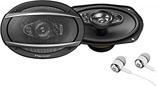 "$39 » Pioneer TS-A6990F A Series 6""X9"" 700 Watts Max 5-Way Car Speakers Pair with Carbon and Mica Reinforced Injection Molded Po..."
