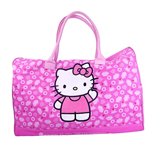 b727f9cc3e Sanrio Hello Kitty Duffle Bag Travel Gym 20