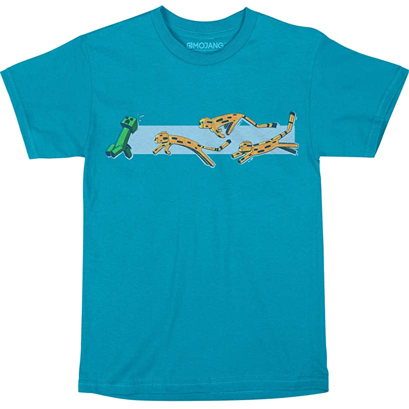 JINX Minecraft Pounce Boys' Tee Shirt
