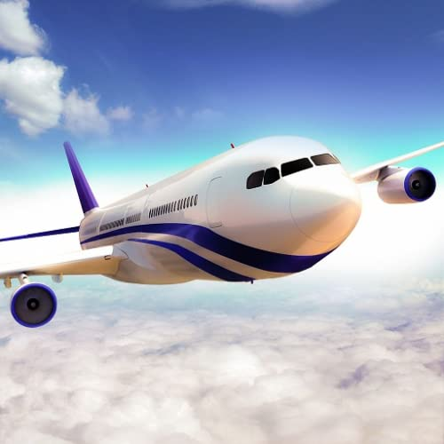 Simulador de vuelo del avión real 2020