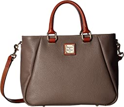 Pebble Small Top Zip Satchel