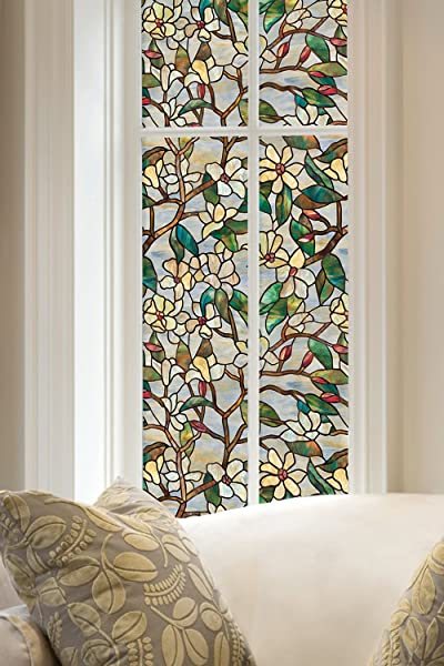 ARTSCAPE Summer Magnolia Window Film 24 X 36
