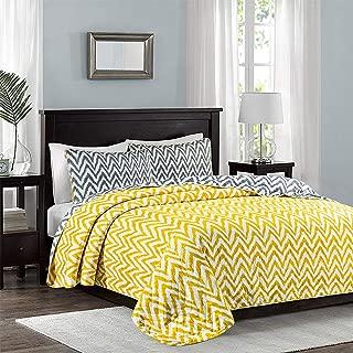 Sophia and William Quilt Set Queen Bedspread Grey Coverlet Set - Lightweight, Reversible, Hypoallergenic