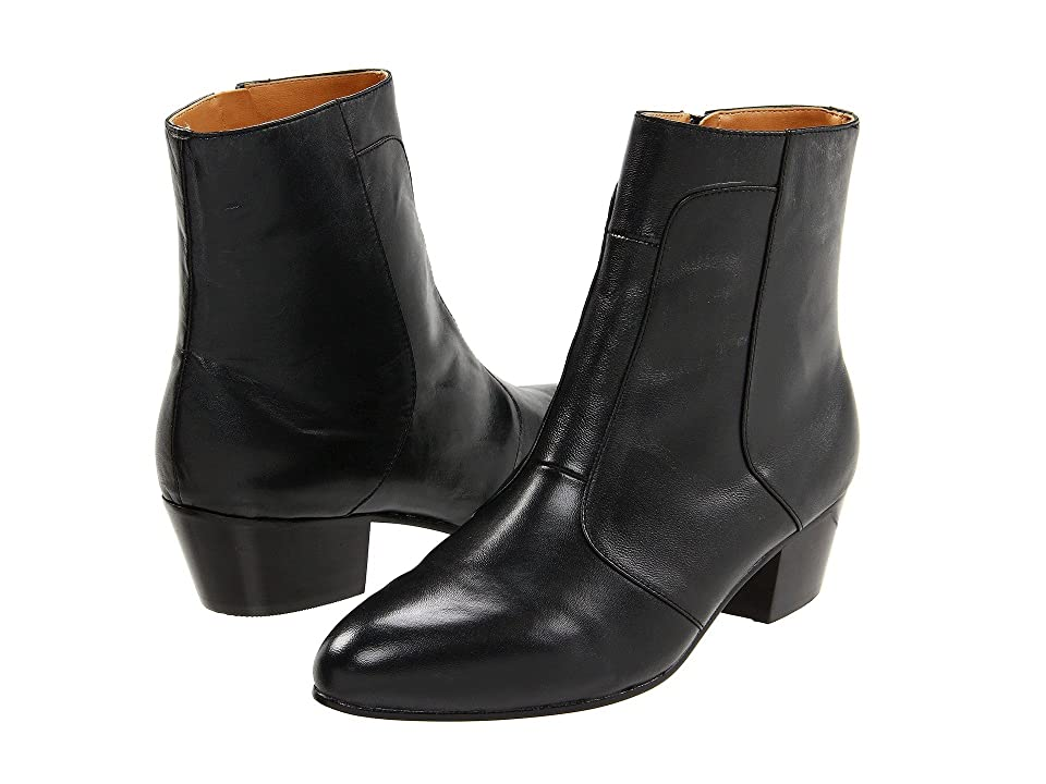 60s Mens Shoes | 70s Mens shoes – Platforms, Boots Giorgio Brutini Calloway Black Mens Dress Zip Boots $95.00 AT vintagedancer.com