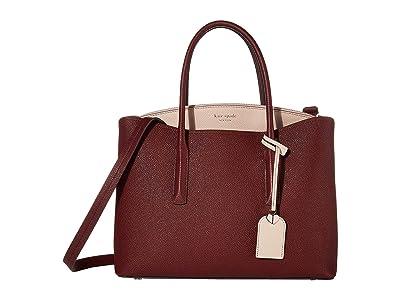 Kate Spade New York Margaux Large Satchel (Cherrywood Multi) Satchel Handbags
