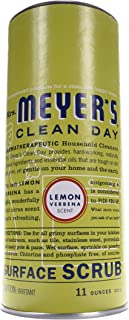 Mrs. Meyer's Clean Day Surface Scrub, Removes grime on Kitchen and Bathroom Surfaces, Non Scratching Powder, Lemon Verbena...