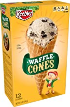 Keebler Ice Cream Cones, Waffle, 12 Count Box, 5 Ounce