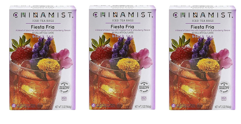 China Mist - Fiesta Fria Black Each Tea Bags Bag Choice Iced Yiel service