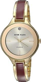 Anne Klein Women's Quartz Watch, Analog Display and Stainless Steel Strap