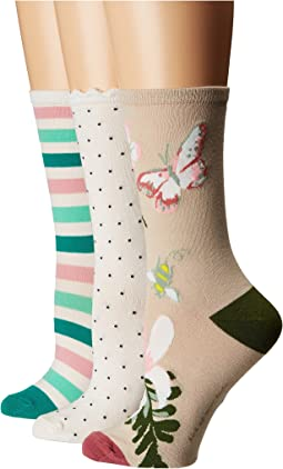 Botanical 3-Pack Trouser Socks