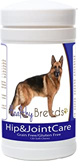 Healthy Breeds Hip & Joint Care - Bacon Flavored Soft Chews - Gluten & Grain Free - Over 200 Breeds - 120 Chews