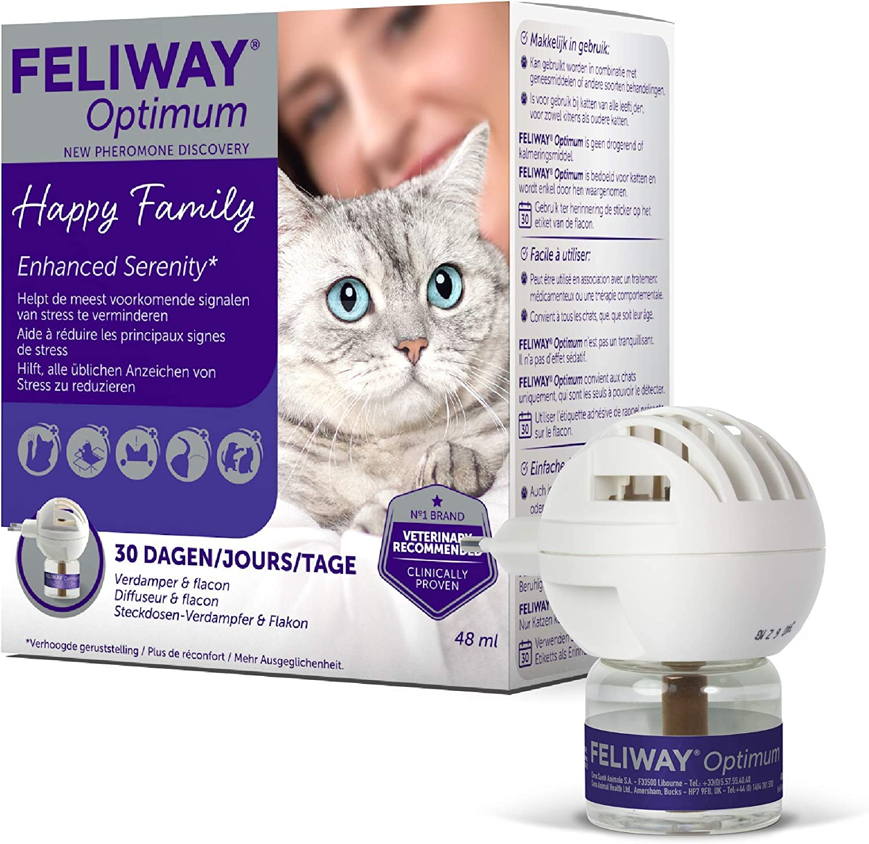 Feliway Optimum - Difusor & Botella de repuesto 48ml