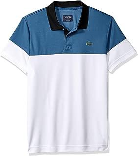 Lacoste Men's Sport Short Sleeve Color Blocked Polo