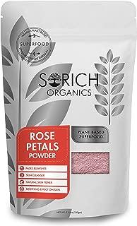 Sorich Organics Rose Petal Powder for Skin - 100 Gm - 100% Pure and Natural