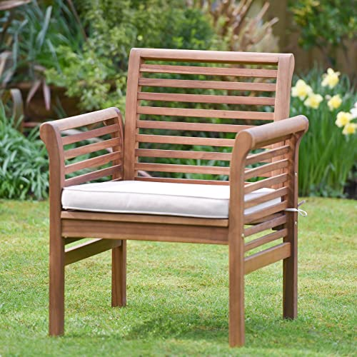 Phenomenal Wooden Garden Chair Amazon Co Uk Interior Design Ideas Tzicisoteloinfo