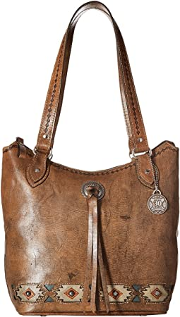 American West - Native Sun Zip Top Bucket Tote