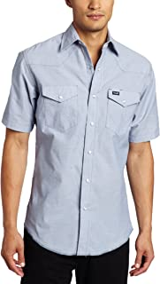 Best wrangler pearl snap short sleeve shirts Reviews