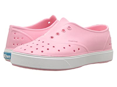 Native Kids Shoes Miller (Little Kid) (Princess Pink/Shell White) Girls Shoes