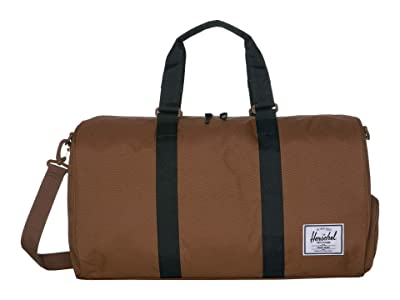 Herschel Supply Co. Novel (Saddle Brown/Black) Duffel Bags