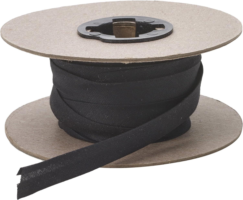 Loom Elastic 38mm x 15m   Black   Birch 009616