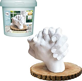 Hand Casting Kit By Craft It Up! - DIY Plaster Statue Molding Kit - Hand Holding Craft for Couples Activity Set - Unique B...