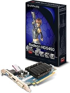 Sapphire Radeon HD 5450 - Tarjeta gráfica AMD (memoria de 1 GB DDR3, PCI-e, VGA, DVI, HDMI, 1 GPU)