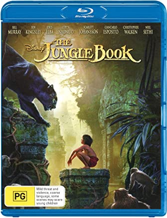 Jungle Book, The (Live-Action) (Blu-ray)