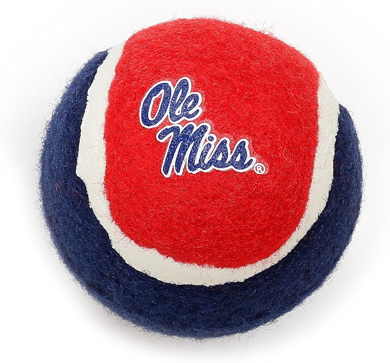 Pet Goods Manufacturing Mississippi Ole Miss Rebels Tennis Balls (4 Pack)
