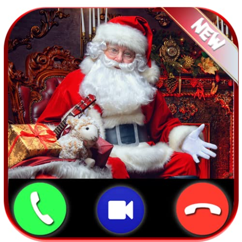 Incoming Fake Call From Santa Claus - Free Fake Video Calls From Papa Noel - Prank 2020