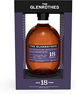 Glenrothes 18 Years Soleo Speyside single malt Scotch whisky, 700ml