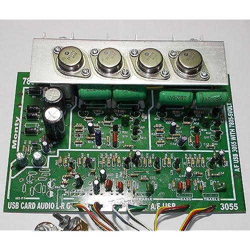 power amplifier board, 200 watt rms amplifier board, amplifier kit