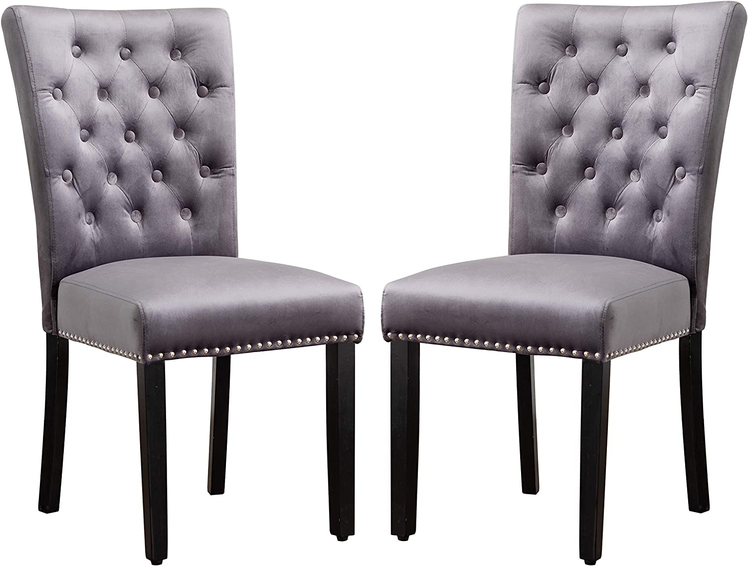 Velvet Parsons Upholstered Dining Ranking TOP6 Chair Armless Nai with lowest price Accent