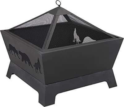 Fire Pit Bowl Antique Fire Bowl Fire Pit with Screen for Outdoor Fire Pit for Patio Portable Outdoor Fire Pit Bowl
