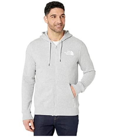 The North Face Half Dome Full Zip Hoodie (TNF Light Grey Heather) Men