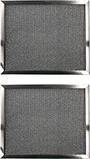 Replacement Aluminum Filters Compatible with Estate 8189890, Kitchenaid 8189890, Whirlpool 8189890,G-8160,RHF1217-12 x 18 x 3/8 (2-Pack)