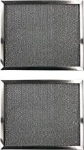 Replacement Aluminum Filters Compatible with GE WB2X2189, Imperial Cal 1910,G-8543,RHF1003-10 X 13-3/8 X 3/8 (2-Pack)