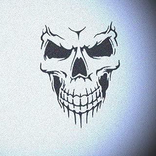 Skull Face Auto Stencil Mylar Wall Autos Painting Stencils