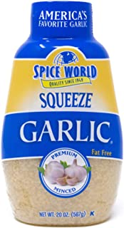 Spice World Squeeze Garlic - Value Size 20 oz