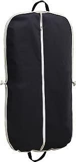 "MISSLO Black Zippered Suit Bag 42"" Length Coat Cover For Travel"