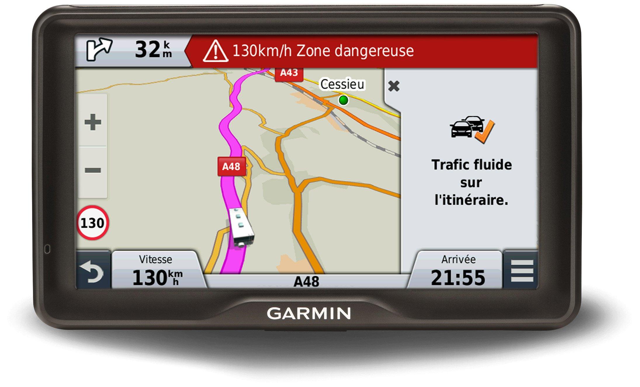 Garmin 760LMT-D - Sistema de navegación GPS (para la UE, pantalla TFT de 7
