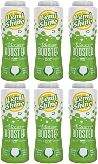 Lemi Shine Detergent Booster, 24 Ounce, 6-Pack