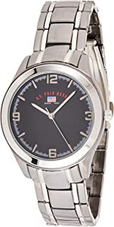 U.S. Polo Assn. US8218EXL Men's Quartz Watch, Analog Display and Stainless Steel Strap