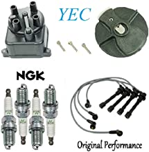 Tune Up Kit Cap Rotor Wires Plugs for Honda Civic CX; DX; EX; LX; 1.6L 1996-2000 (D16Y7 Eng; D16Y8 Eng)