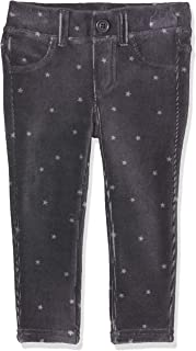 Brums Pantalone Ecopelle Elasticizzato con Voulant Bambina