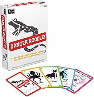 Danger Noodle Card Game by University Games for 2 to 8 Players Ages 12 and Up The Perfect Party Game for Game Night or Fam...