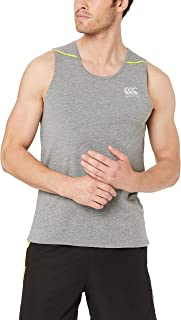 canterbury Small Logo Singlet, Adult-Men